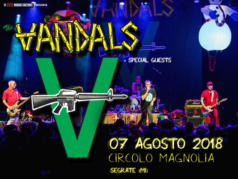 the vandals a milano 7 agosto 2018 circolo magnolia